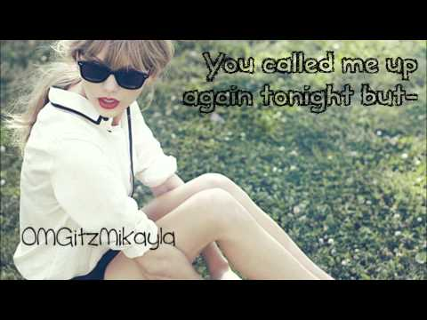Taylor Swift - We Are Never Ever Getting Back Together - Lyrics - HD