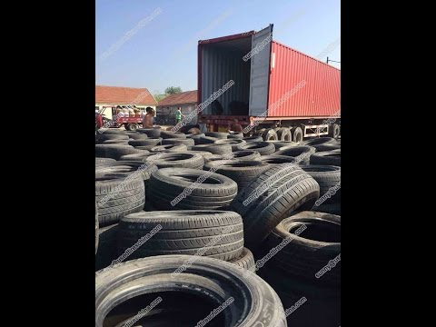 Used Tires Wholesale Warehouse in China Quality Second Hand Tires in Bulk