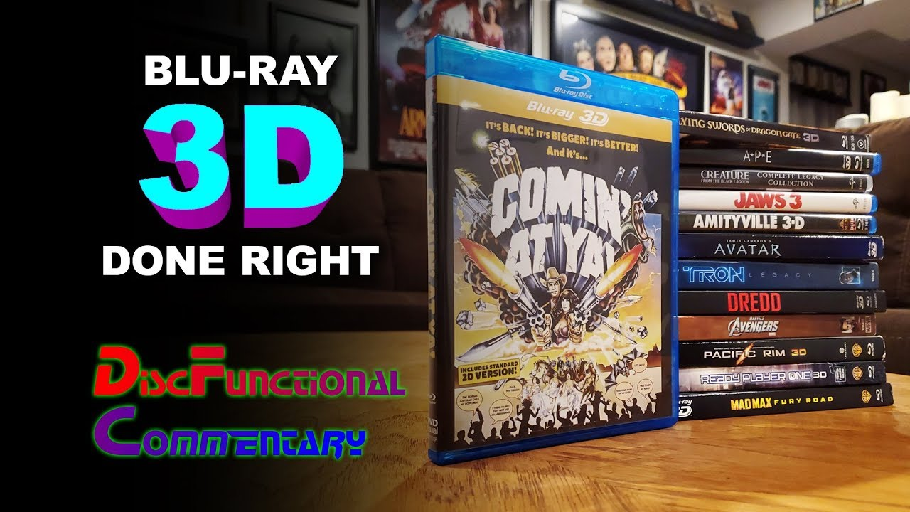 Blu-ray 3D Done Right!
