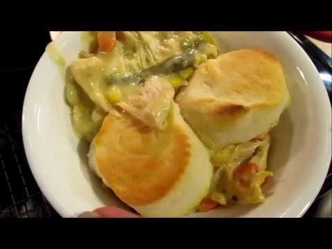 4 Ingredient Crock Pot Chicken Pot Pie