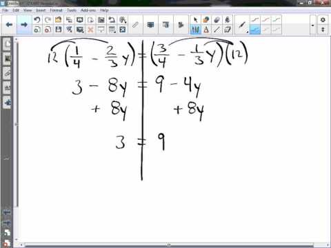 Solving Equations with a Variable on Each Side Examples