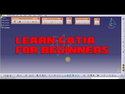 catia lecture 1 (lines,profile,trim,mirror)