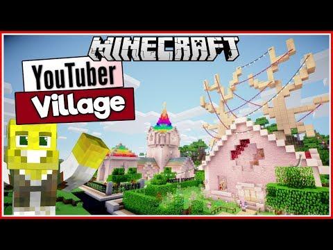 Lizzie's Antler Cottage & Rainbow House! | Youtuber Village Ep.2