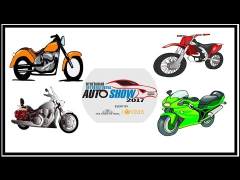 Auto Show 2017  Hyderabad Part-2 (Super Bikes)
