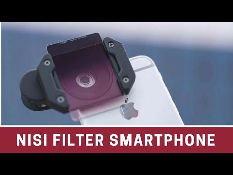 NiSi P1 Mobile Phone Filter Kit - Nisi Filter Smartphone Unboxing