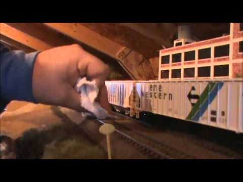 Track Cleaning Tips Ho scale Layout