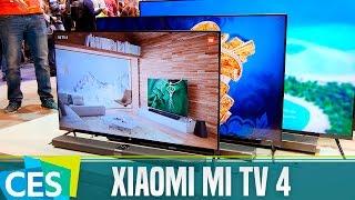 Xiaomi Mi TV 4, primeras impresiones #CES17