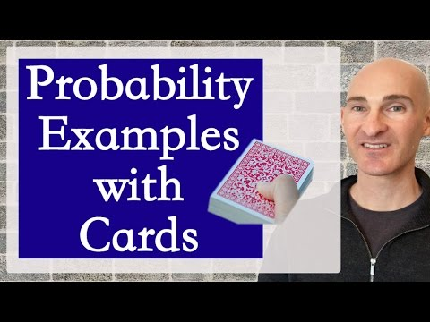 Probability Examples with Cards