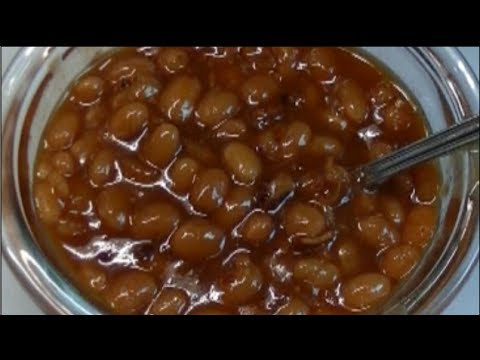 Maple Bacon Pressure Cooker Baked Beans Recipe ~ Noreen's Kitchen