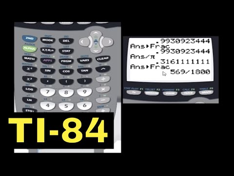 TI-84 Calculator - 12 - Converting Between Degrees and Radians