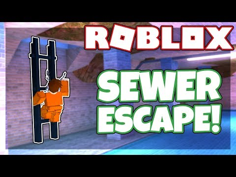 How to use the *NEW* SEWER ESCAPE ROUTE | Roblox Jailbreak