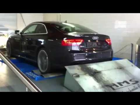 Audi RS5 mit HMS Klappenabgasanlage - GH Motorsport