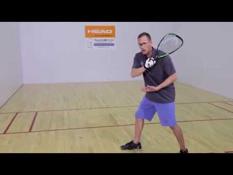 Rocky Carson Racquetball Backhand Tip