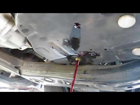 2012-2017 Camry/Avalon/ES350 U760E & U660E transmission fluid level check and pan drain and refill