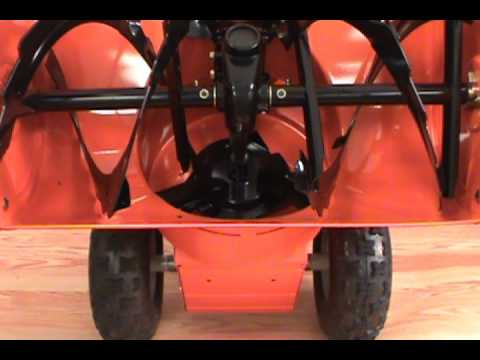 Replacing the Scraper Blade - Ariens Two Stage Snow Blower