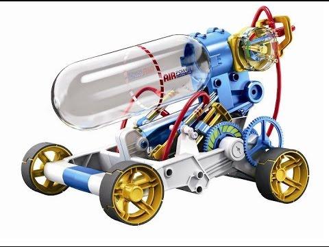 CIC Robotic kit - Air Powered Engine Car Video CIC21-631