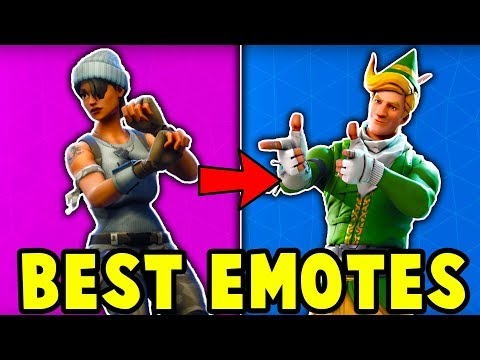 10 BEST EMOTES TO BUY in Fortnite (u need to buy these emotes)