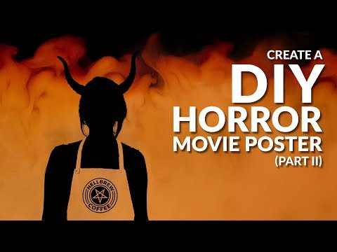 Create a DIY Horror Movie Poster | Part II, The Demon Barista