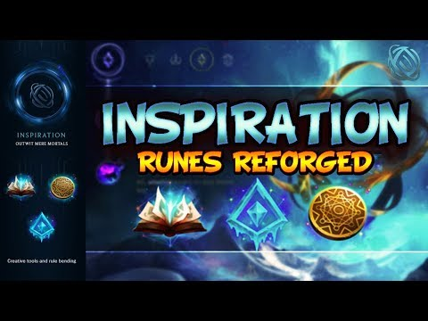Inspiration Guide - NEW SEASON 8 RUNES   PRO TIPS & FOR BEGINNERS - League Of Legends Runes Reforged