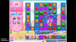 Candy Crush Level 451 Audio Talkthrough, 3 Stars 0 Boosters