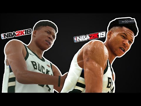 NBA 2K19 SCREENSHOT Graphics Comparison With NBA 2K18!