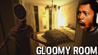 WE CAN FINALLY BEAT THIS GAME | Gloomy Room [Bathroom ENDING] (Japanese Horror Game)