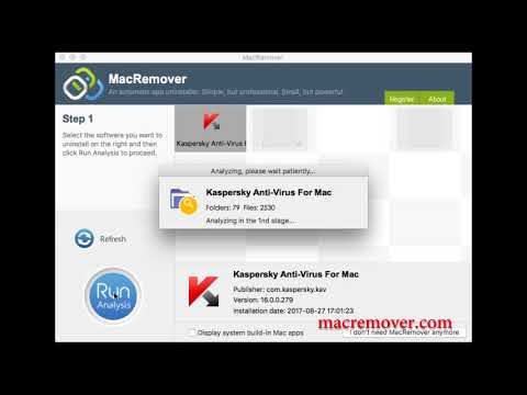 How to remove Kaspersky Anti Virus 16 on your macOS and Mac OS X?