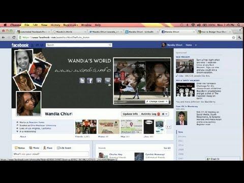 How to Make Custom Facebook Locks : Social Media Simplified