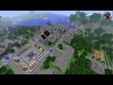 Minecraft TimeLapse: The Village