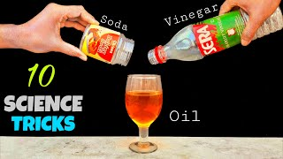 10 Amazing Science Experiments To Do At Home || Easy Science Experiments
