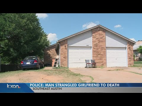 Police: Man strangles girlfriend to death, attempts to escape police interrogation room