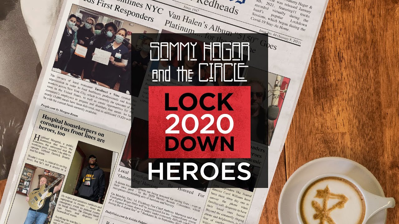 """Download Sammy Hagar & The Circle- """"Heroes"""" (David Bowie) Official Music Video MP3 Gratis"""