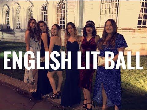 English Lit Ball | Cardiff Uni 2018