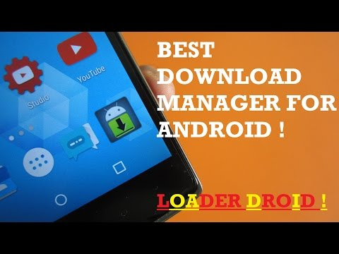 Best Download Manager for Android - Loader Droid ! [ Pause,Resume,Restart dead downloads]