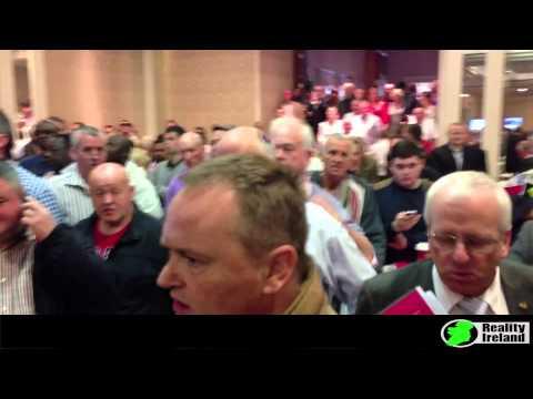 Irish people shut down repossession auction