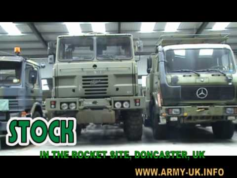 EX Military used trucks for SALE
