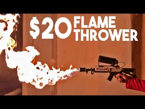 Elon Musk's FLAMETHROWER! $20 DIY
