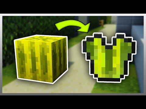 ✔️ Turn ANY Block into ARMOUR (Minecraft Mod)
