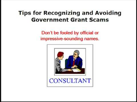New Grant Scams in 2009 - Watch Out