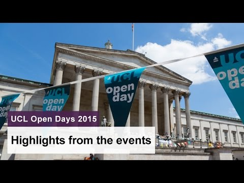 UCL Open Days 2015
