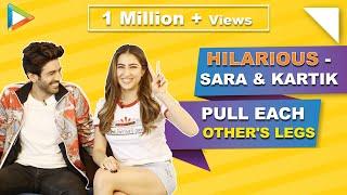 "Kartik Aaryan: ""Sara Ali Khan is the BIGGEST flirt, Tu kaise…""| Love Aaj Kal"