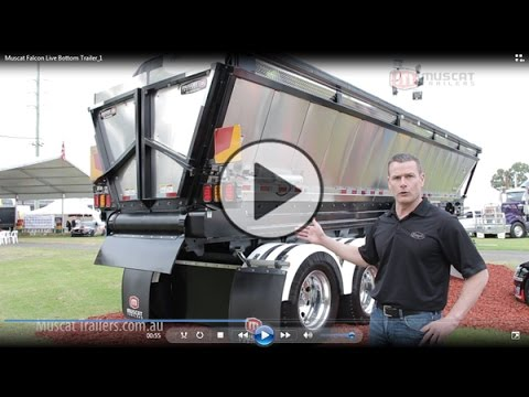 Muscat Falcon Live Bottom Trailer