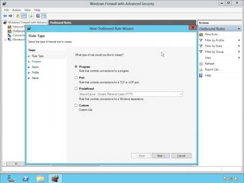 82-Enable Inbound and Outbound Rules To Open TCP Port 1433 For SQL Server 2012 instances