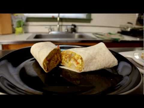 Breakfast Burrito - Cooking with The Vegan Zombie