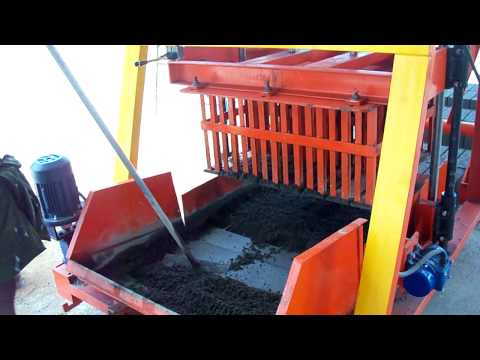 Concrete Block Making Machine Jumbo 860 - Global Impex, India