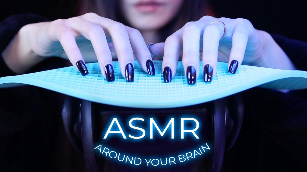 ASMR Gentle Triggers Around Your Brain (No Talking)