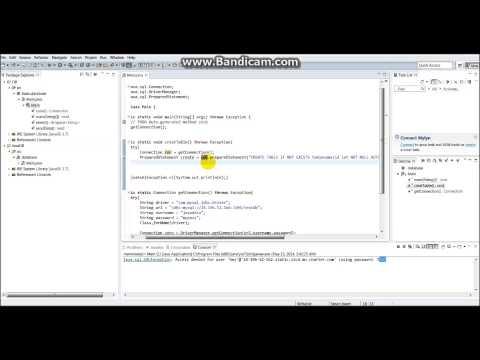 Java-MySQL Creating a table