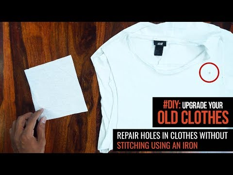 AskMen India | #DIY: Repair Holes in Clothes without Stitching using an Iron