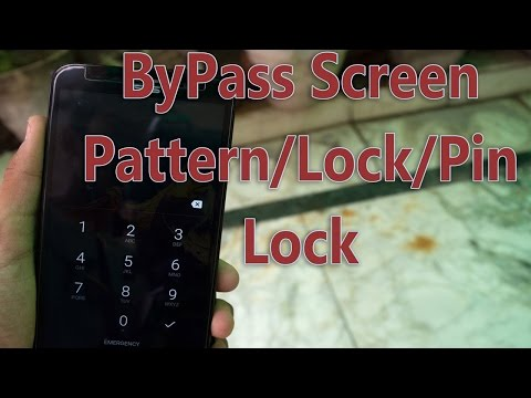 How to Unlock Android Pattern / Password / Pin / Fingerprint Lock