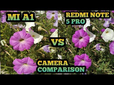 camera comparison note 5 pro vs mi a1  redmi note 5 pro camera review  mi a1 camera review